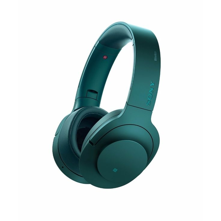 Sony H.ear on Wireless Noise Cancelling On-Ear Headphones (Blue)