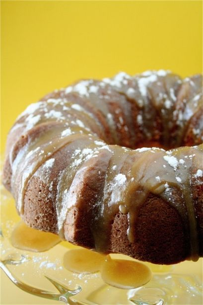 Hot Buttered Rum Cake Perfect for the Holidays