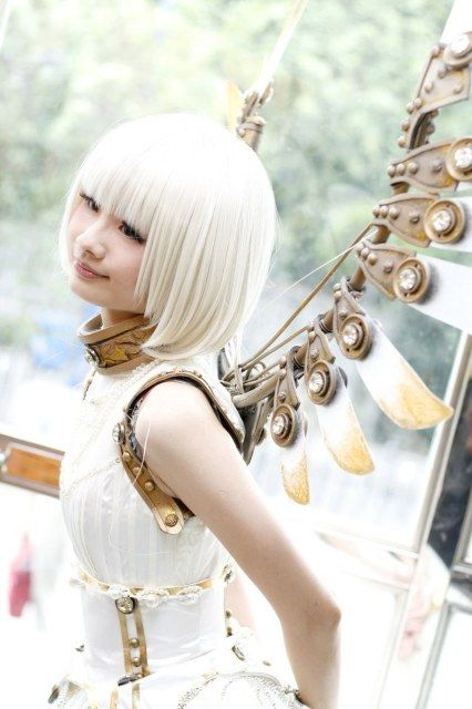 Suu cosplay from Clover is very inspirational for #steampunk too.