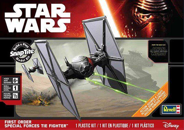 Revell SnapTite max Starwars First Order Special Forces Tie Fighter  Niveau 2 84.99$ Achetez-le info@laboiteasurprisesdenicolas.ca