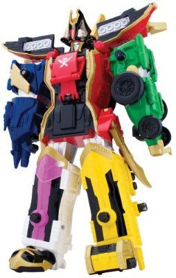 Power Rangers Súper Megaforce - Megazord (Bandai 38095)