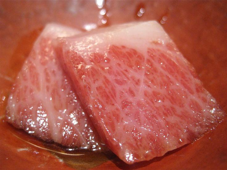 Kobe Beef Sushi @ Urasawa
