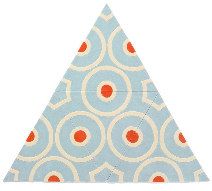 kinder GROUND Lets You Be A Rug Designer. The modular carpet system.