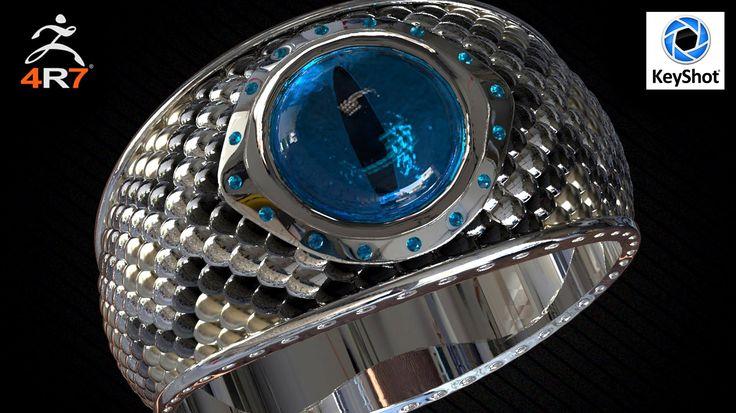 3D modeling ring