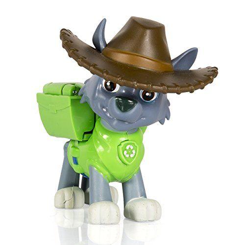 Paw Patrol, Hero Pup, Cowboy Rocky Paw Patrol https://www.amazon.com/dp/B00TZF93J0/ref=cm_sw_r_pi_dp_x_ZckUxbW84CG03