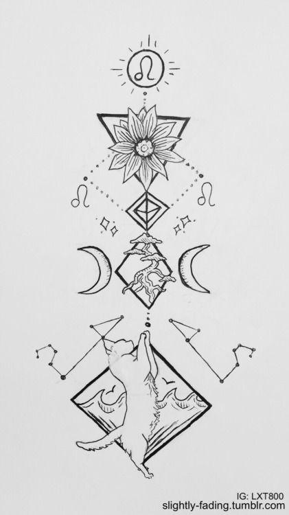 Image result for leo constellation tumblr