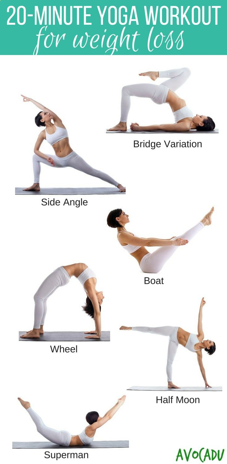 Yoga workout for beginners to lose weight! Learn to love your body through a beautiful yoga practice! avocadu.com/...
