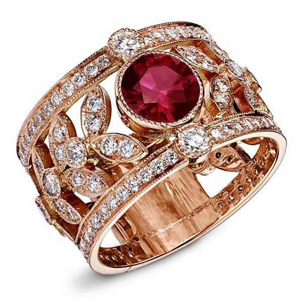 Bien connu 21 best Bague Rubis et Diamants images on Pinterest | Centre  TJ63