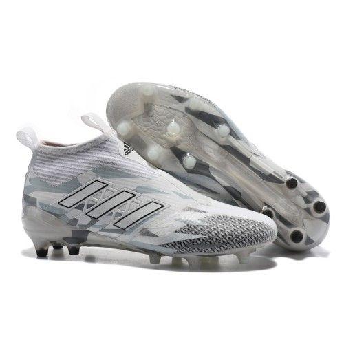 Jeftinije Adidas ACE 17 PureControl FG Kopačke Gray White