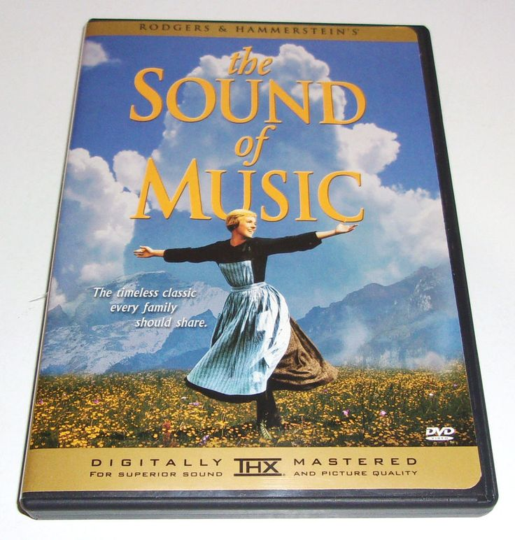 The Sound of Music DVD 2002 Single Disc Widescreen Commentary Julie Andrews