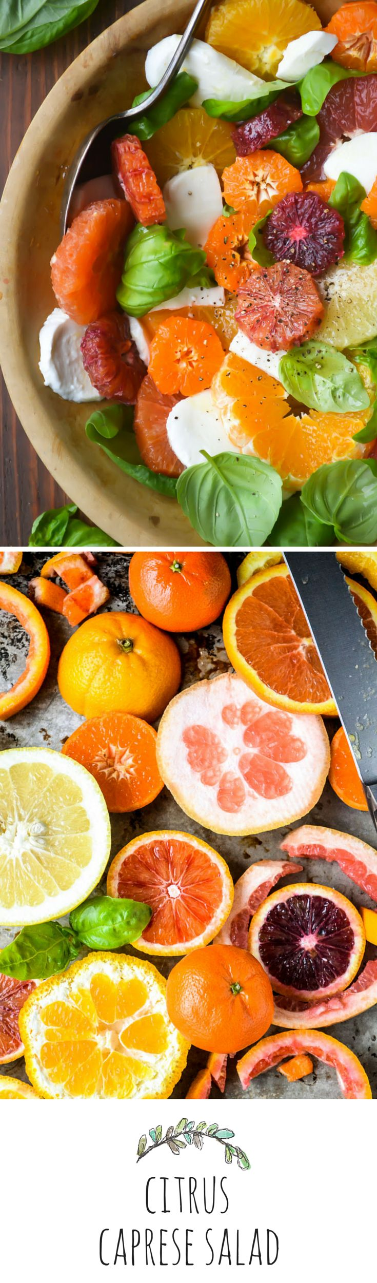 Winterize your favorite summer salad with juicy citrus!