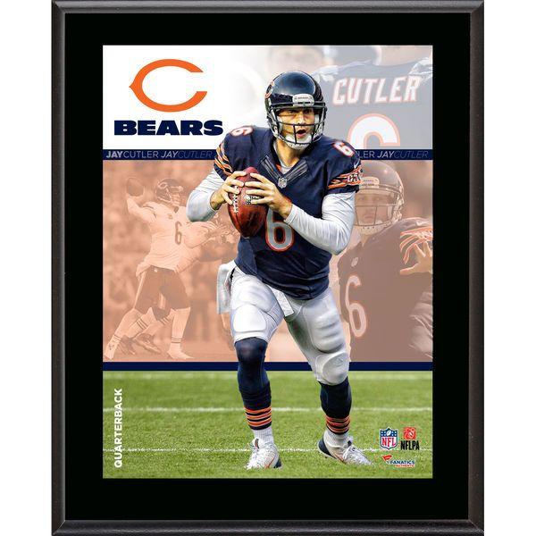 "Jay Cutler Chicago Bears Fanatics Authentic 10.5"" x 13"" Sublimated Composite Plaque - $29.99"