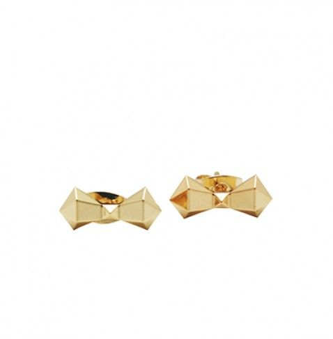 BOWTEK - Stud earrings with faceted bow from the AGATHA Paris Electro Batik fashion jewellery collection