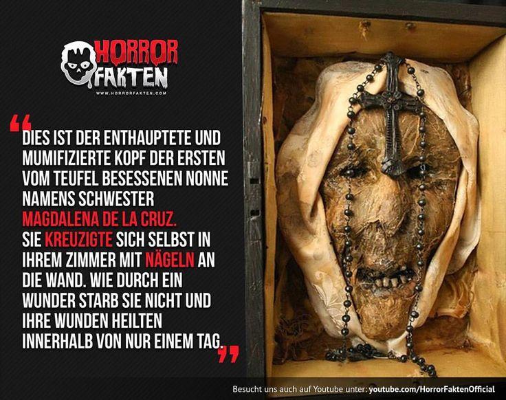 Magdalena of the Cross - Wer die ganze Geschichte über sie lesen möchte (englisch) kann uns gerne eine PN schreiben #horrorfakten