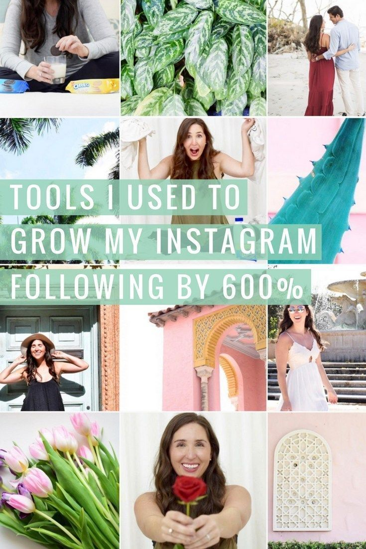 Want to grow your Instagram following? Wondering how to become instafamous for more sponsorships or sales? Check out my favorite tools that helped me grow my instagram following by 600% in 30 days!