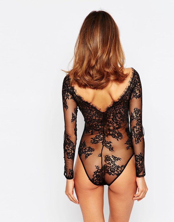 Image 3 - ASOS - Lana - Body style Bardot en dentelle délicate