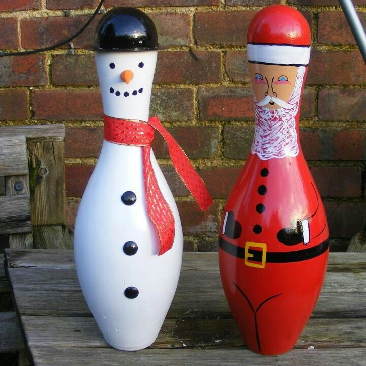 Most Popular Christmas Decorations On Pinterest To Pin: 1000+ Ideas About Bowling Pins On Pinterest