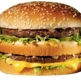 Big Kahuna Burger (Pulp Fiction) Vs. BIG MAC (McDonald's)
