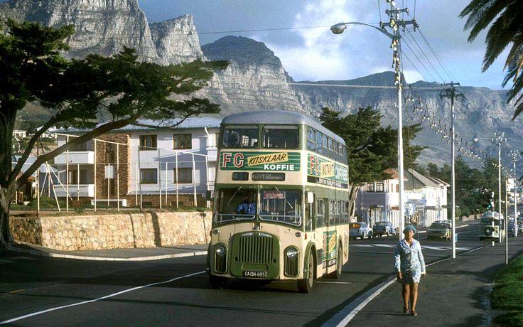 Camps Bay Main Road, Cape Town - 1974. BelAfrique your personal travel planner - www.BelAfrique.com