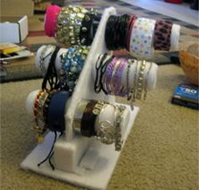 Make your own bracelet display!