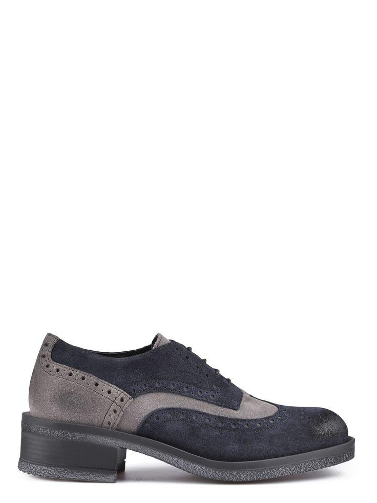 Γυναικεία Κομψά Παπούτσια TENDENZ - μπλε-γκρι