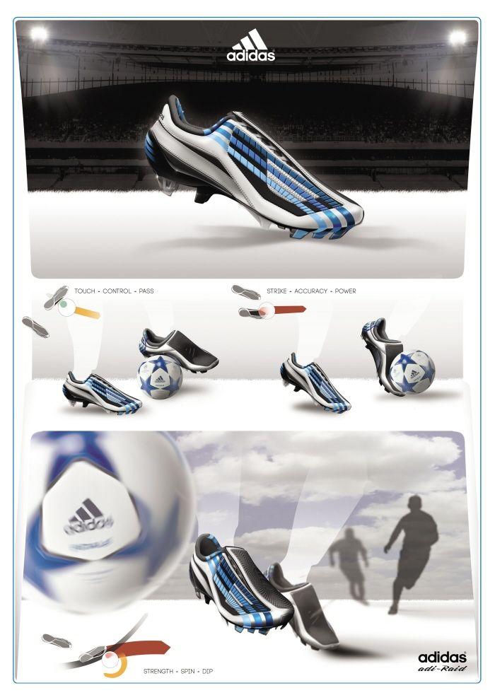 Adidas -Raid on Behance for inspiration