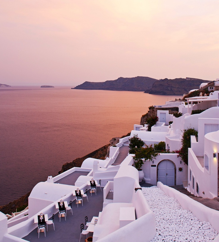 spellbinding view of the caldera #Jetsetter: Oia Hotels, Buckets Lists, Santorini Greece, Favorite Places, Canaves Oia, Beautiful, Hotels Santorini, Travel, Luxury Hotels