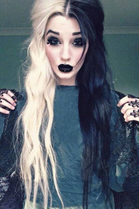 this is really cool. i wish that i could go out in public like this and not look like its halloween every day