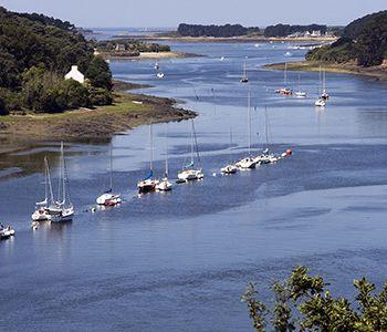 MonGR - GR34 - L'Aber-Wrac'h, le plus grand des Abers bretons. Crédit : Office de tourisme Pays des Abers