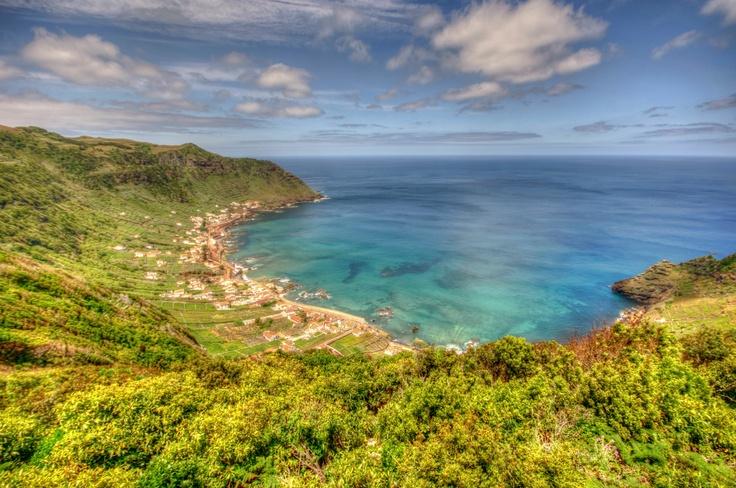 S. Lourenço Bay. Santa Maria, the Azores