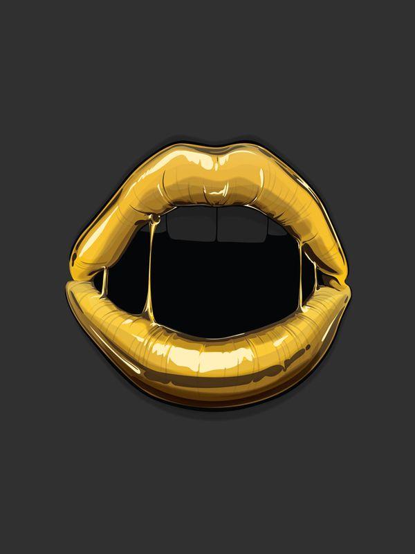 Goldie by Gerrel Saunders, via Behance