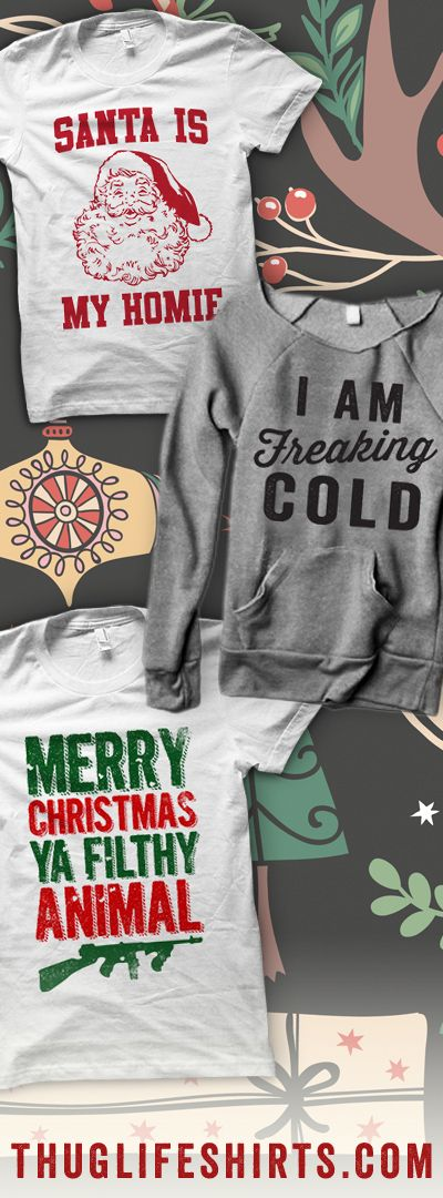 Shop our Holiday Collection featuring shirts that are fun for the entire family!
