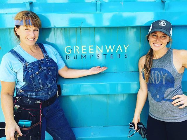Greenway Dumpsters are definitely our backbone when it comes to the demo on our houses. Our renovations would not be possible without them! Big shout out and thanks to all the great people there!