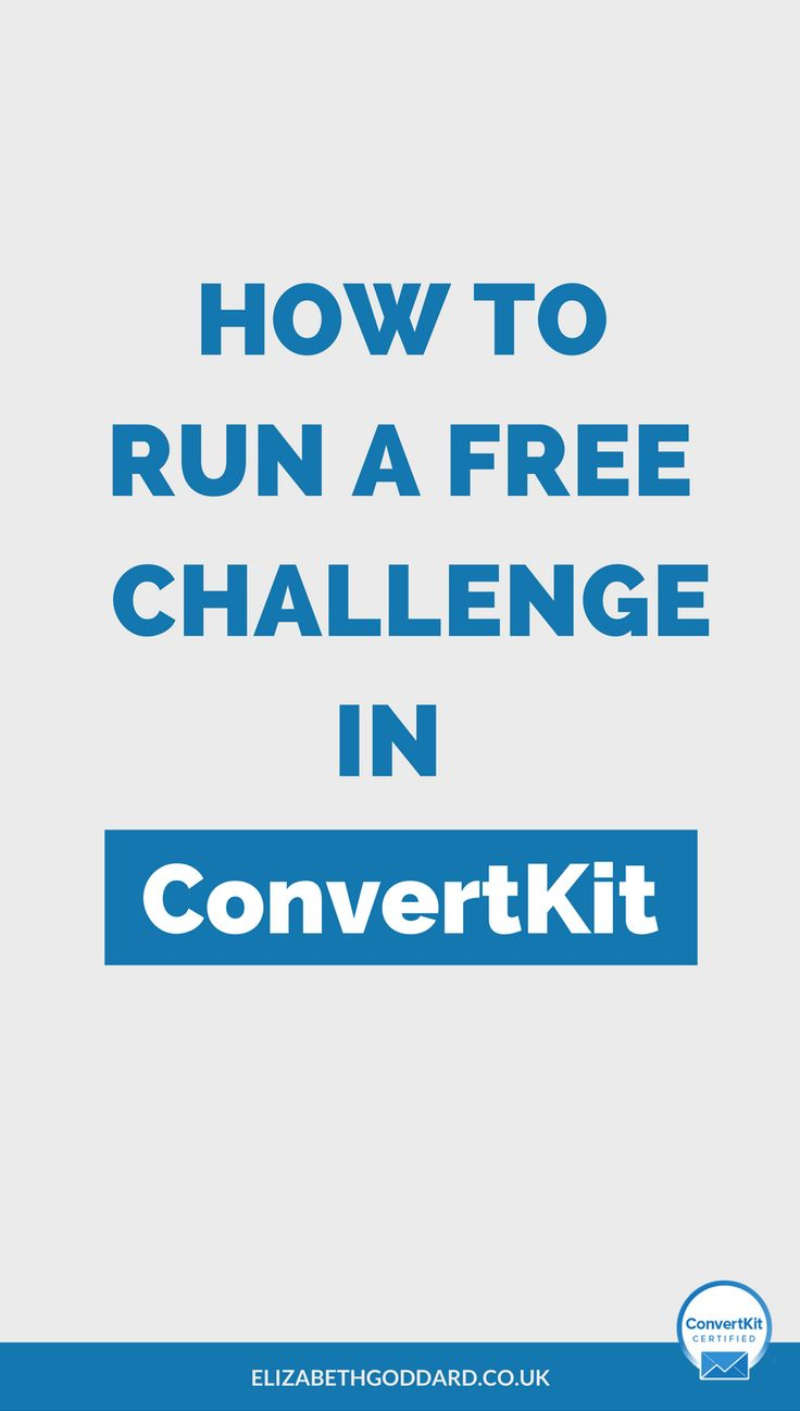 Want to grow your mailing list? Free challenges are a great way to build your email list. Learn how to run a free challenge in ConvertKit in my ConvertKit tutorial. Email marketing tips | email automation | bossbabe | service based business.