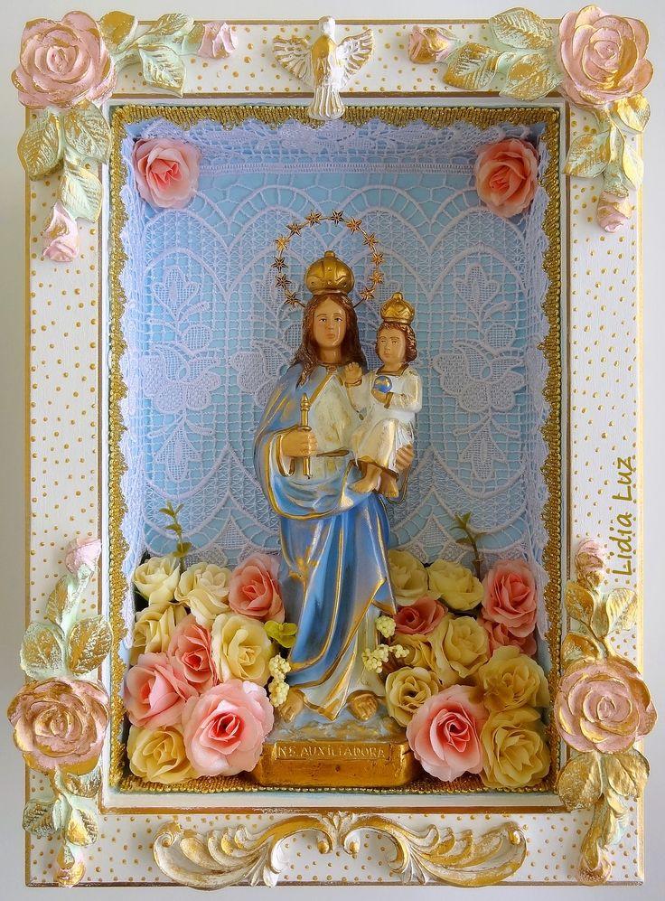 Nossa Senhora Auxiliadora, a Protetora do Lar | Flickr - Photo Sharing!