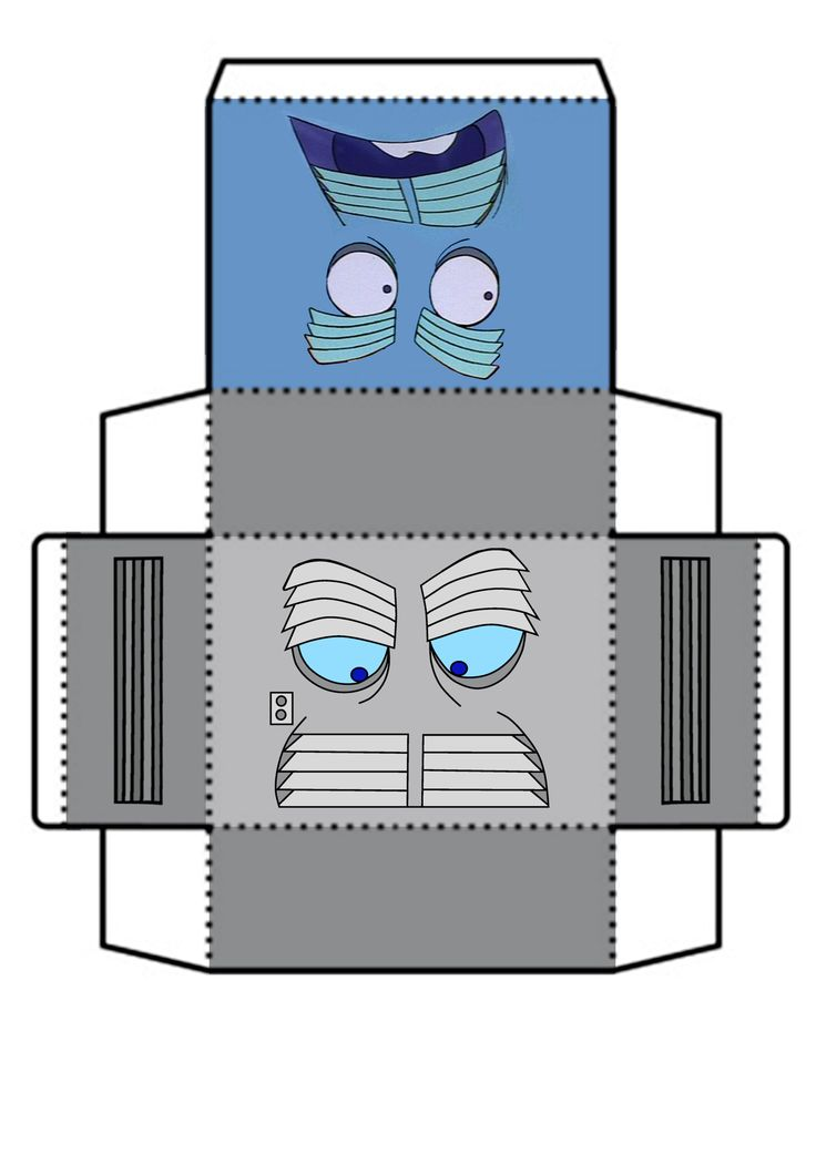 The Air Conditioner Paper craft from the Little Brave Toaster 1987