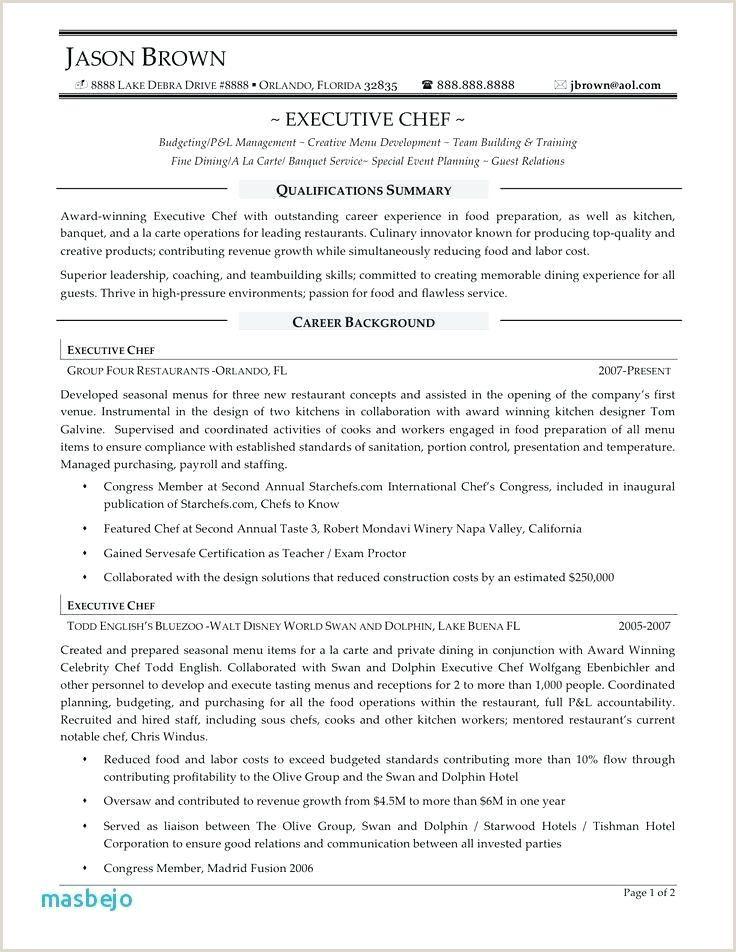 Executive sous Chef Resume Chef resume, Resume writing