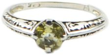 STERLING SILVER CITRINE ANTIQUE STYLE RING  http://melaniewoods.com/product/citrine-antique-style-ring/