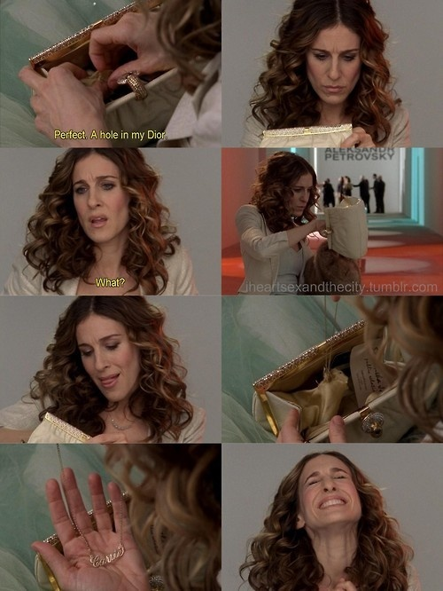 Carrie - one of my fave scenes... When you Find yourself again... :)