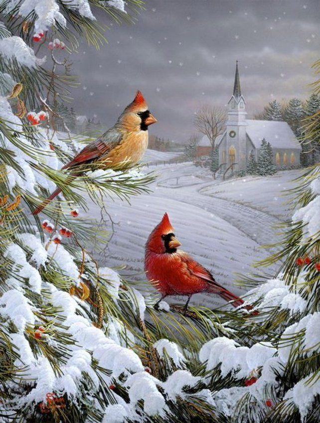 Зима картинки на открытки