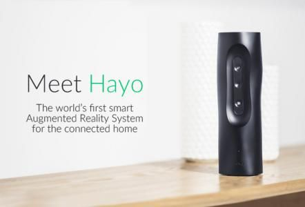 Hayo connects to your favorite smart home platforms and products (like IFTTT, Wink, Sonos, Nest) and gives you the ability to control them with simple hand motions. The system starts by 3D-scanning your room and lets you create virtual remote controls on top of objects (like furniture) or right in mid air. Want to make your coffee table a play button for Sonos? Or place an on/off button for your HUE lights right above your bed? Hayo can do that. It's like using the force for your home.