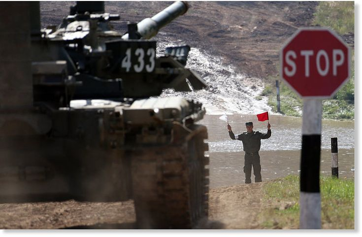 Russia responds to NATO's eastward expansion by deploying 3 military divisions on western border -- Puppet Masters -- Sott.net