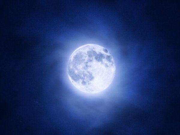 Magical Blue Moon March 31, 2018