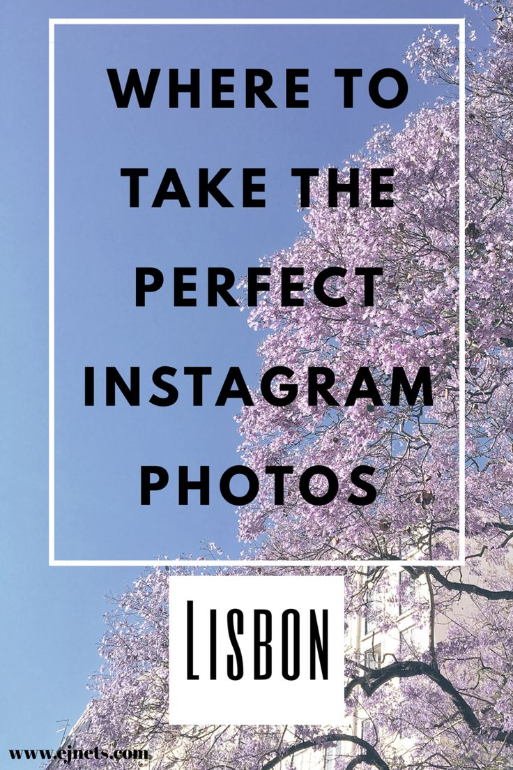 Are you coming to visit Lisbon and you don't know about the best places to take photos? There you go :) www.ejnets.com #lisbon #lisboa #traveltips #instagramtips #tips #travel #portugal #blogger