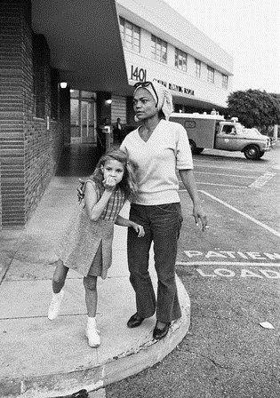 Eartha Kitt and daughter Kitt.....Uploaded By www.1stand2ndtimearound.etsy.com