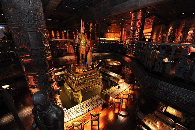 Its not often that a restaurant makes our jaws drop. Todays deal not only tickles the taste buds - its stunning decor (including 20-foot high warrior statues) is a feast for the eyes too...