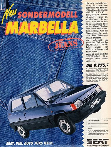 1991 SEAT Marbella Jeans | by aldenjewell
