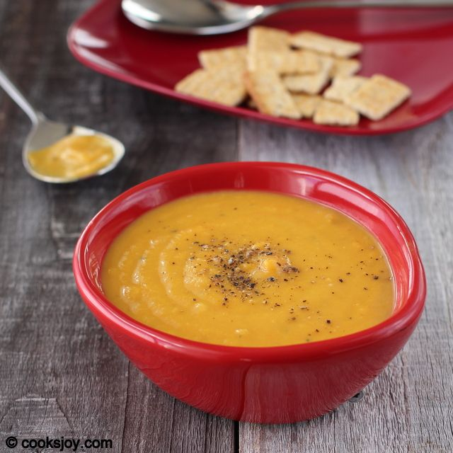 Cooks Joy - Carrot Apple Ginger Soup | Dinner | Pinterest