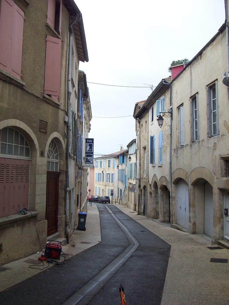 streets of Valence, France