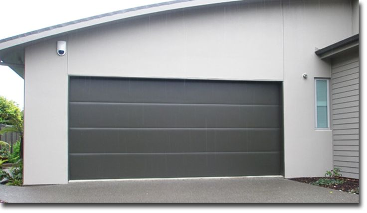Flat panel garage door google search redo pinterest for Tall garage doors